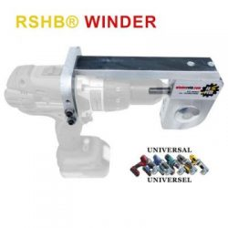 RSHB® – A tie-down strap winder tool for cordless drill
